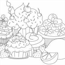 christmas pages to color coloring pages kawaii christmas page free printable kawaii cupcake