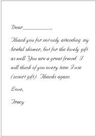 bridal shower thank you notes here s a template to help you get started if you re feeling stuck on