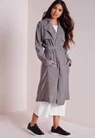 trench coat grey