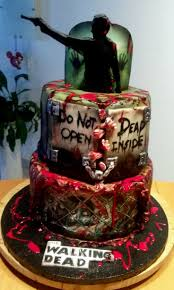 walking dead cake ideas walking dead birthday cake fantastic best walking dead birthday
