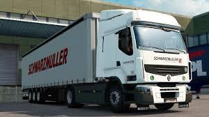 renault truck premium ets 2 1 27 promods 2 16 renault premium wien rzeszow youtube