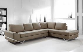 Modern Leather Sectional Sofa Modern Sectional Sofas Inside Contemporary Sofa Sectionals Decor