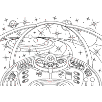 outer space coloring pages surfnetkids