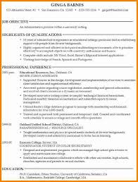 Example Of Resume Objective Resume by College Application Resume Objective Best Resume Collection