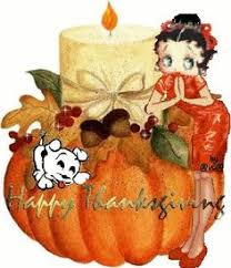 betty boop thanksgiving clipart collection