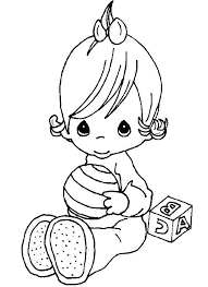 21 precious moments baby coloring pages uncategorized printable