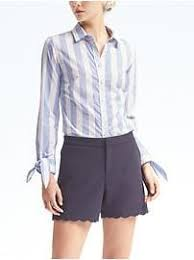 Blouse With Big Bow Petite Tops Sale Banana Republic
