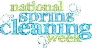 spring cleaning week blog national spring cleaning week