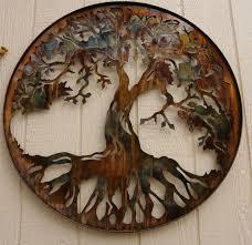 Metal Wall Decoration Ledtreeoflife Htm Cool Tree Of Life Metal Wall Art Home Decor Ideas