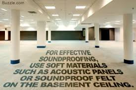 How To Soundproof A Basement Ceiling by This Is Surely The Best Way To Soundproof A Basement Ceiling