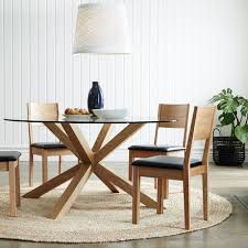 Circle Dining Table And Chairs Circular Glass Dining Table And 4 Chairs Awesome Room With