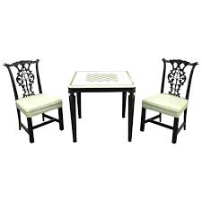 two chair table set or iii style marble top game table set with two chairs for two chair table set