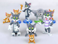 tom and jerry cake topper tom jerry plastic ebay