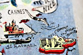 Cannes Map by Tongue In Cheek A Road Map To France Or Where Your Wildest