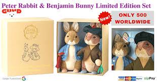 rabbit and benjamin bunny plush rabbit benjamin bunny limited edition box