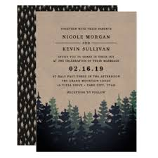 forest wedding invitations forest wedding invitations announcements zazzle