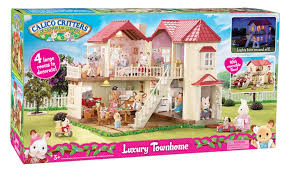 Calico Critters Living Room by Calico Critters Luxury Townhome Toys