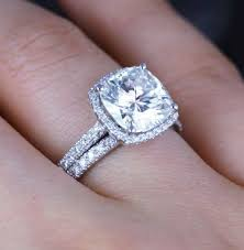 cushion diamond ring 14 best rings images on cushion cut diamonds cushion