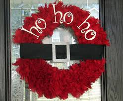 ho ho ho diy christmas wreath diy http whipperberry com 2011 01