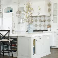 Grey Kitchen Backsplash Quatrefoil Tile Kitchen Backsplash Navteo Com The Best And