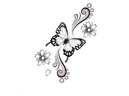 collection of 25 floral butterfly design