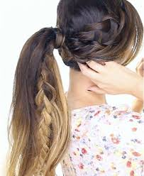 hair braided into pony tail 80 easy braided hairstyles cool braid how to s ideas
