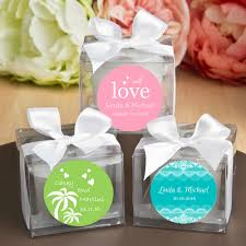 personalized candle favors personalized wedding candles lowest price free assembly