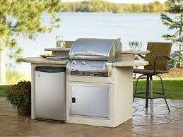 small outdoor kitchens build outdoor kitchen grill small simple