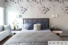 Designs For Bedroom Walls Modern Bedroom Wall Design Gray Brings Contemporary Elegance To