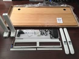 Bamboo Desks Jarvis Bamboo Adjustable Standing Desk Review Keenan Staffieri