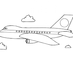 plane coloring pages 27 remodel picture plane
