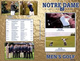 2012 13 notre dame men u0027s golf media guide by chris masters issuu