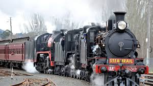 steam trains recall golden age of rail the courier