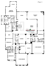 floor plans for 1 story homes one oak floor plans new homes in encinitas ca county