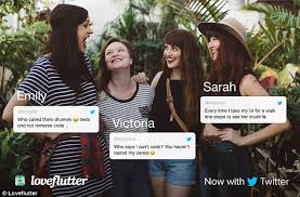 Seeking Trailer Swipe Left Loveflutter Dating App Matches Users Based On Their Tweets Daily
