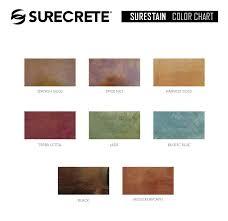 Stain Color Chart Concrete Coating Color Chart Download Surecrete U0027s Product Catalogs Sds Tds And Color Charts