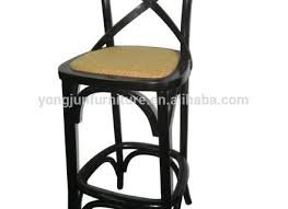 Wood Bar Chairs California Designed Red Wood High Back Chair At 1stdibs Hastac 2011