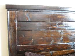 reclaimed wood headboard king bedroom delightful wooden king size headboard plans photo of new