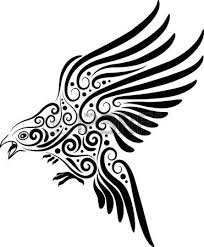 flying bird ornament royalty free cliparts vectors and stock
