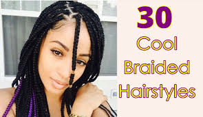 cool braided hairstyles for long short medium hair black women
