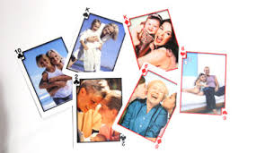 customized cards gift for custom photo cards create a deck