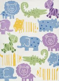 Kids Animal Rugs Animal Kingdom Area Rugs Contemporary Kids Rugs By Nuloom