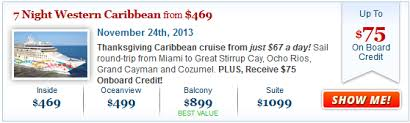 cruise deals cruises from 369 per person cruisesource