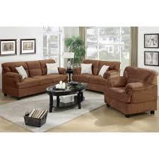 microfiber sofa and loveseat 3 pcs saddle microfiber sofa loveseat chair set