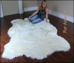 White Skin Rug White Polar Bear Rug Roselawnlutheran
