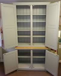 Free Standing Kitchen Cabinet by Freestanding Larder Cupboard Handpainted In Farrow U0026 Ball Estate
