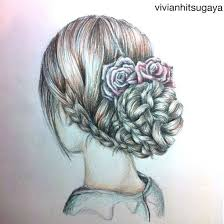 253 best coiffures images on pinterest drawings hairstyles and