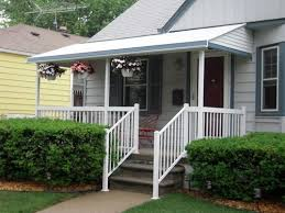 Aluminum Porch Awning Straight Style Aluminum Awning With 2 5
