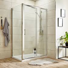 1200mm Shower Door by Premier Pacific Hinged Shower Door Aqhd76 760mm Polished Clear