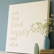 keep home simple diy white wooden words